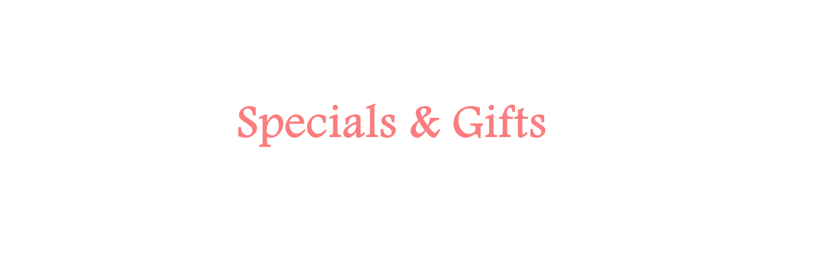 Specials & Gifts | A Way With Works | Creative Writing Workshops