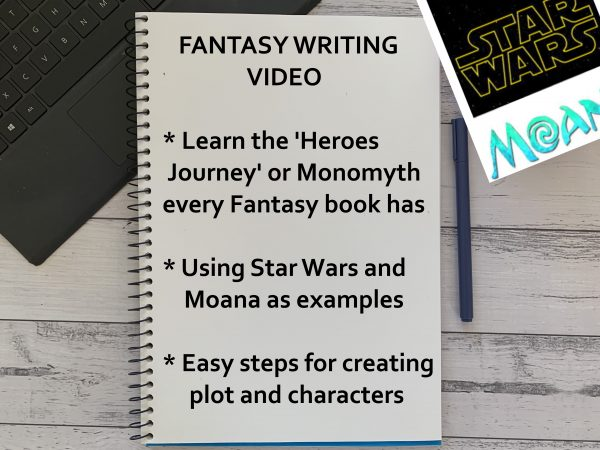 Christmas Gifts | A Way With Works | Creative Writing Workshops | Fantasy Writing Video